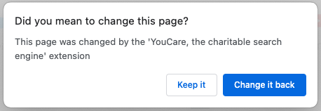YouCare search engine